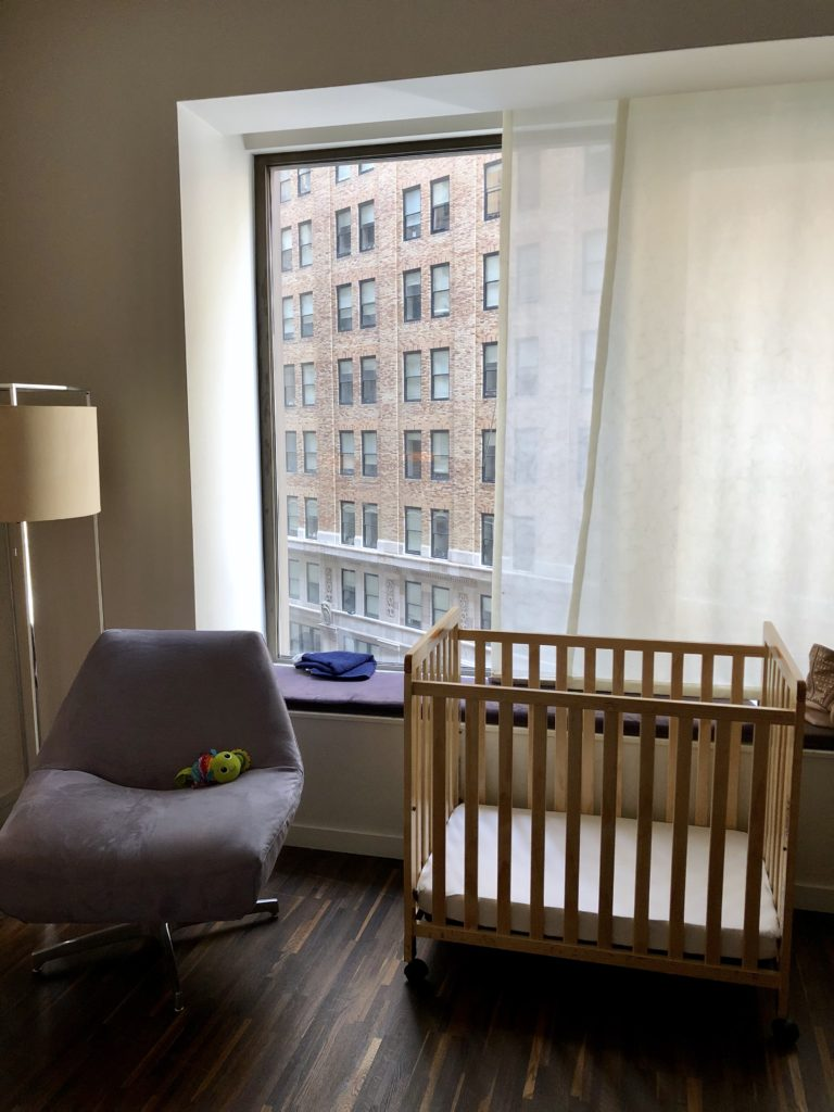 Andaz Wall Street, NYC - travel with a baby to NYC