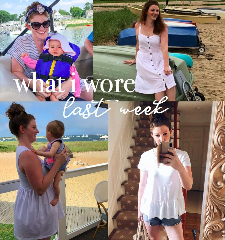 A Week on Cape Cod: Real Outfits