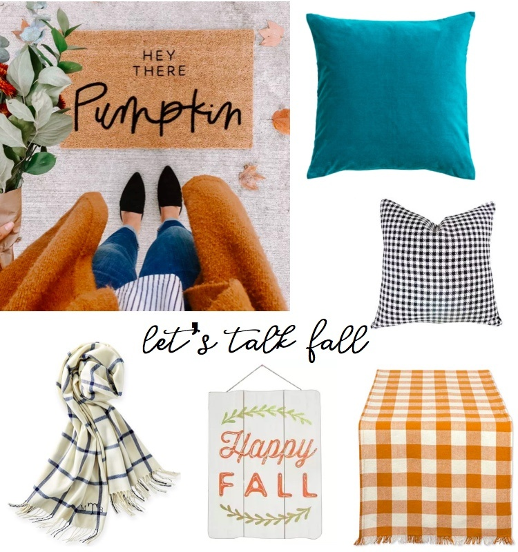 Fall Home Decor Trends featured by popular Boston lifestyle blogger Feathers and Stripes
