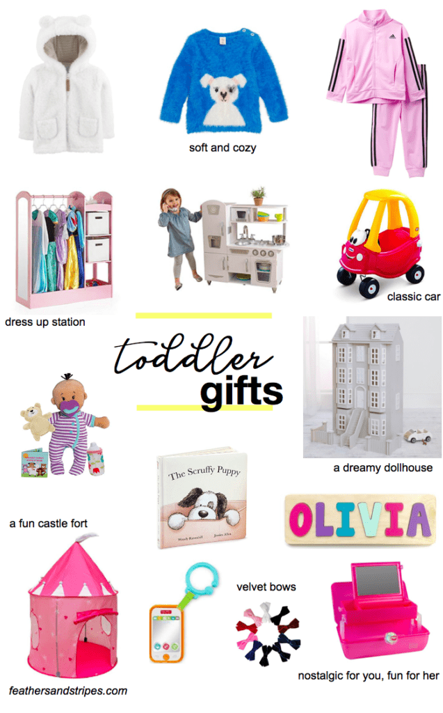 best toddler Christmas gifts and toddler stocking stuffers from mom blogger feathersandstripes.com