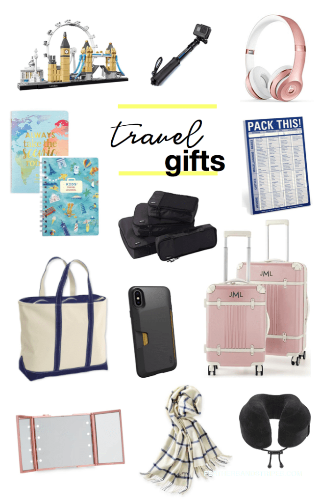 Travel gifts for people always on the go - many are on sale for Black Friday 2018, too!