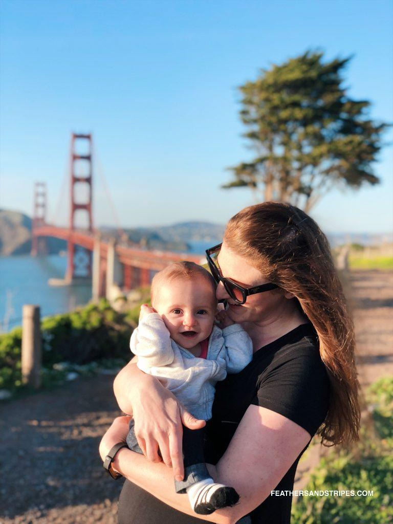 flying with a baby from Boston to San Francisco: how to survive a cross-country flight with a baby