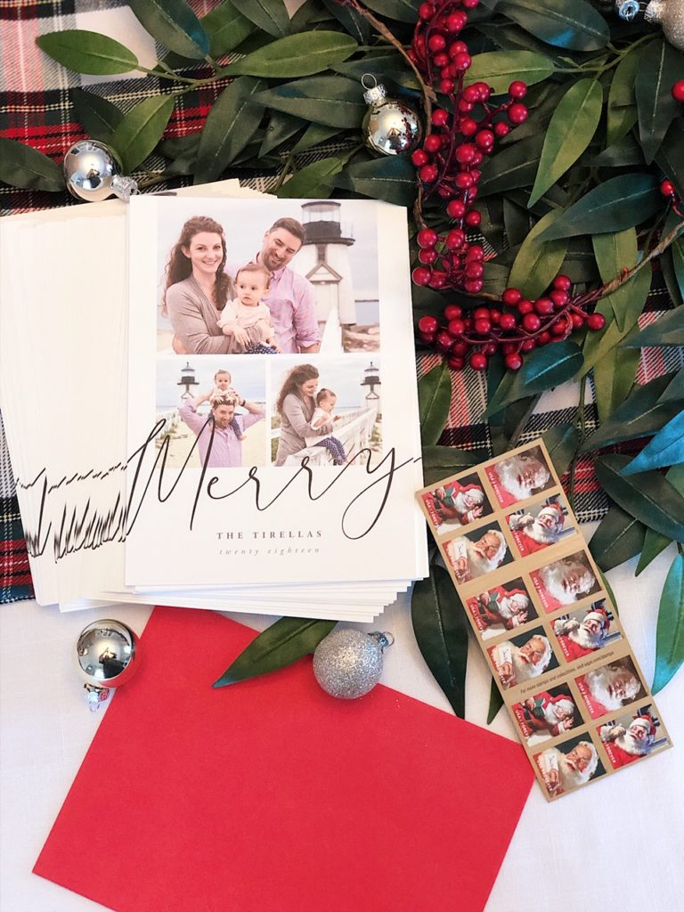 our gorgeous Minted family Christmas card 2018