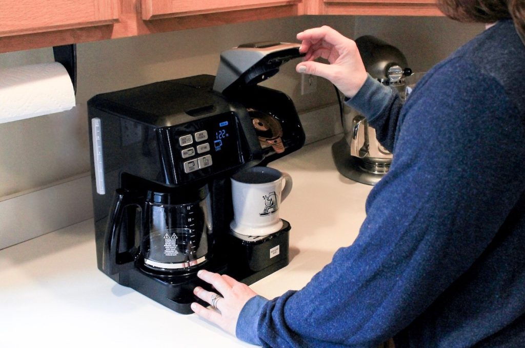 best coffee maker for pods and brew under $100 - Hamilton FlexBrew Coffee Maker
