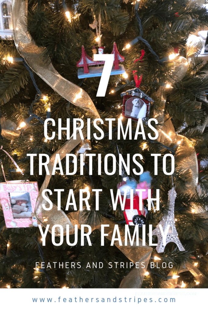 family Christmas traditions - traditions to start with your family!