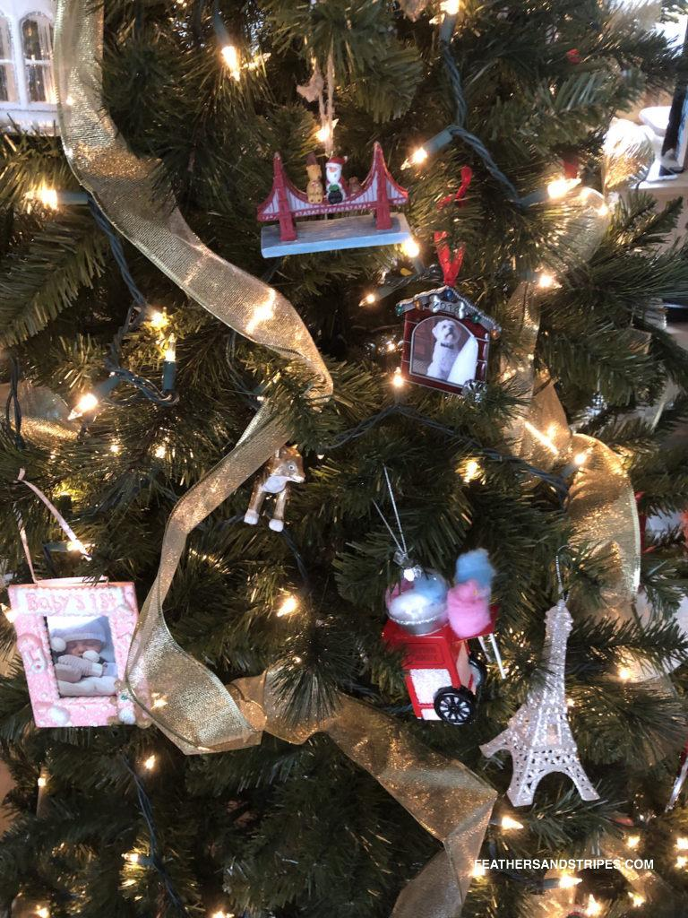 Our favorite special Christmas ornaments and other family Christmas traditions