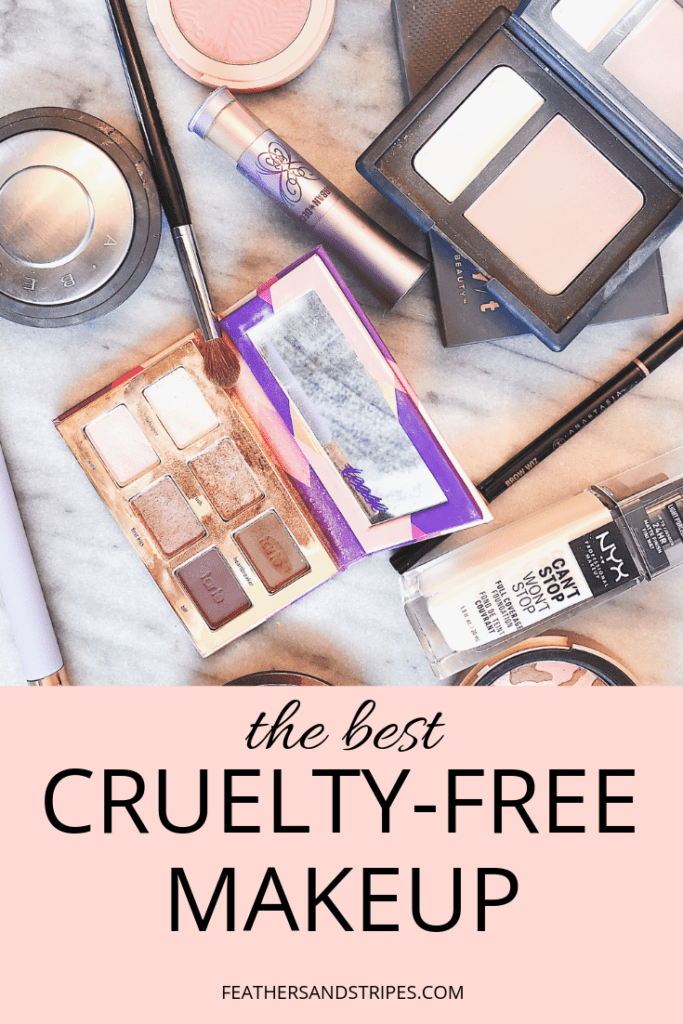 The best cruelty-free makeup + favorite cruelty-free beauty brands from feathersandstripes.com