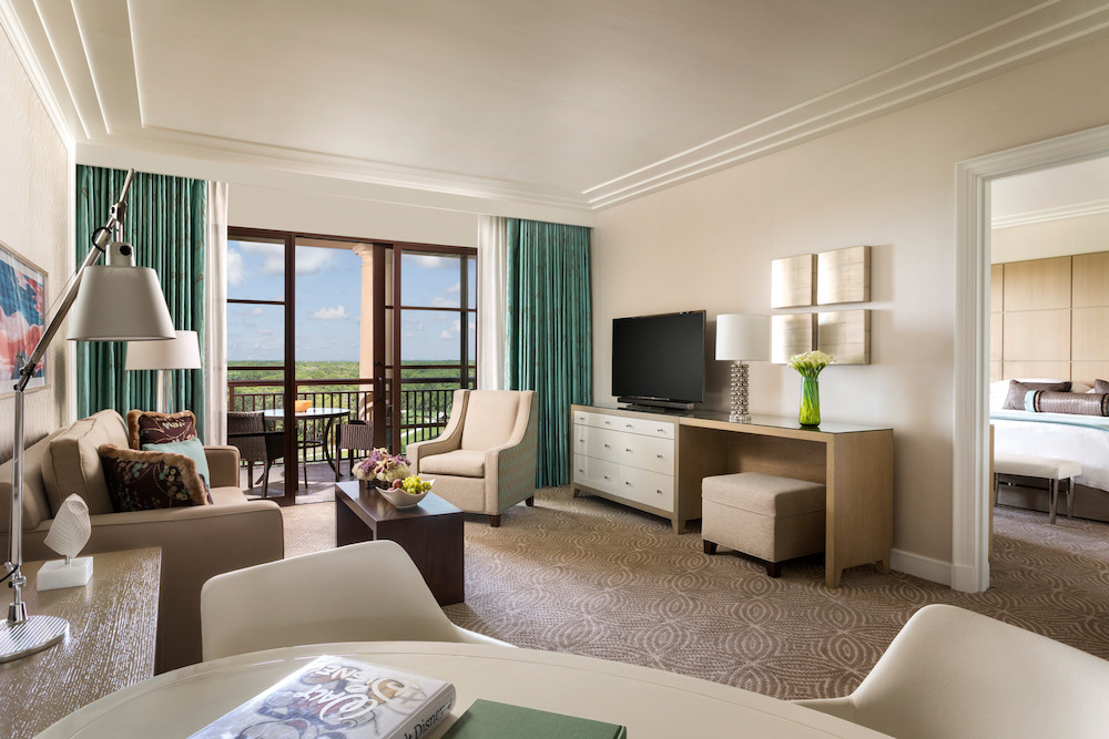 Suite at Four Seasons Orlando (photography provided by Four Seasons Orlando)
