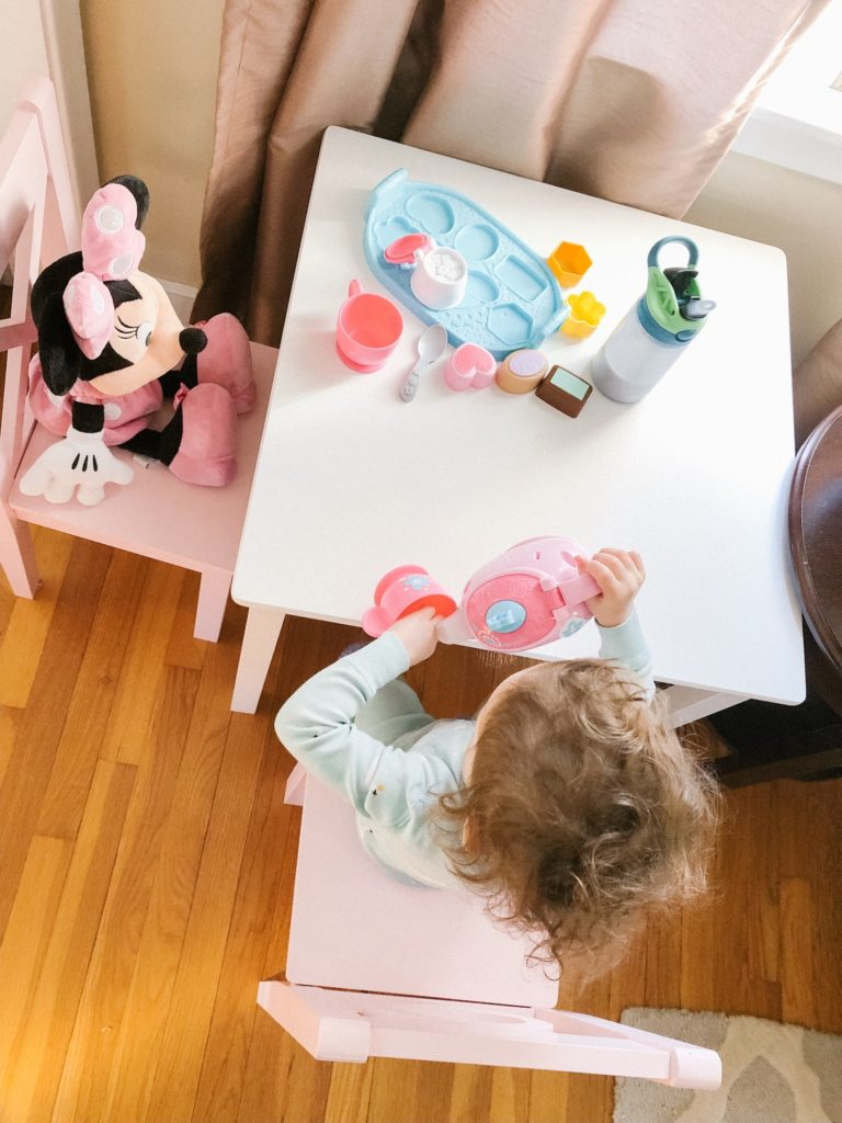 18 month old developments and milestones from mom blogger feathersandstripes.com