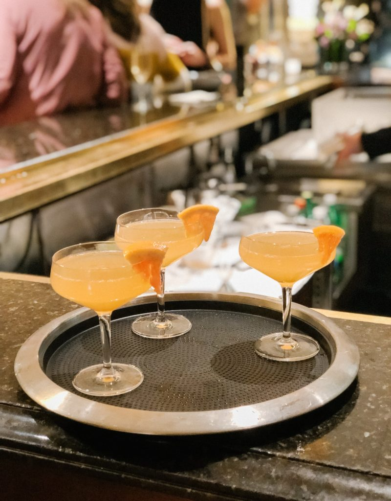 Cocktails at Four Seasons Boston