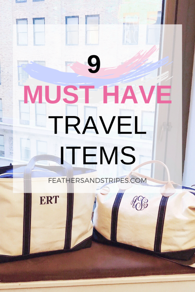 9 must have travel items from 9 travel bloggers