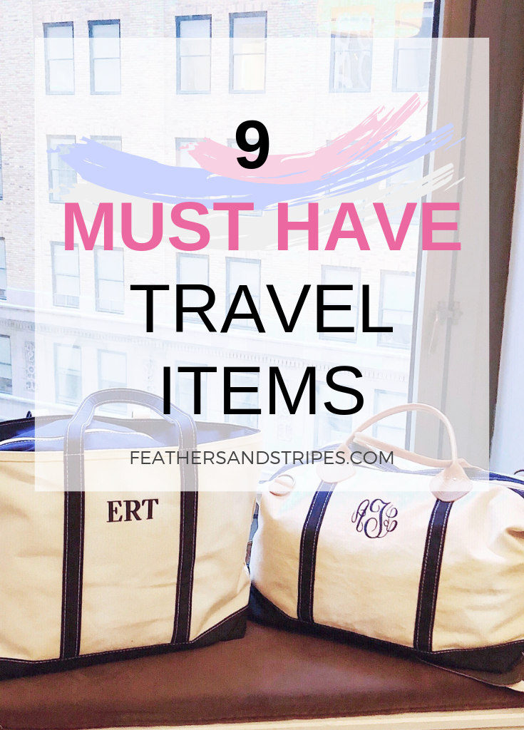 Must Have Travel Items