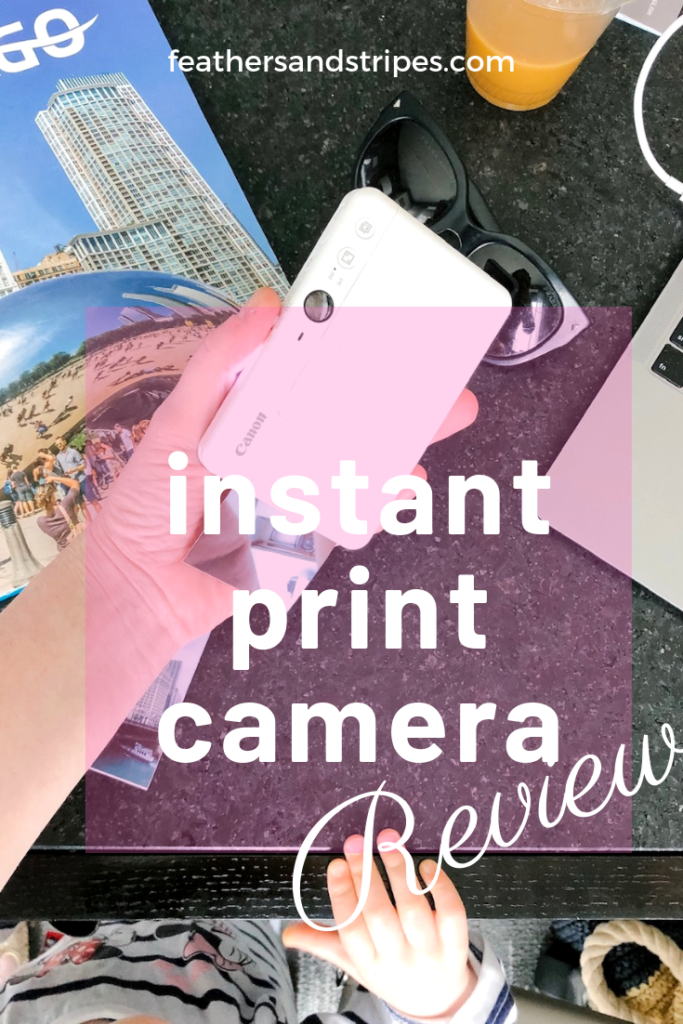 instant print camera review: Canon IVY CLIQ+ (similar to a Polaroid or Instax!)