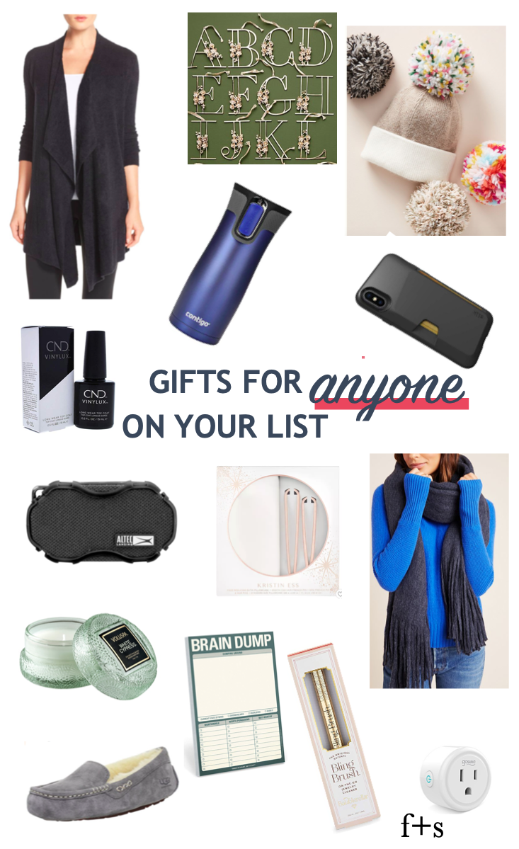 gift guide 2019: gifts for anyone on your list (coworker, mother-in-law, parents, etc!)