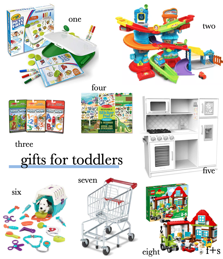 gifts for toddlers: the best gifts for toddlers that they'll play with over and over again!