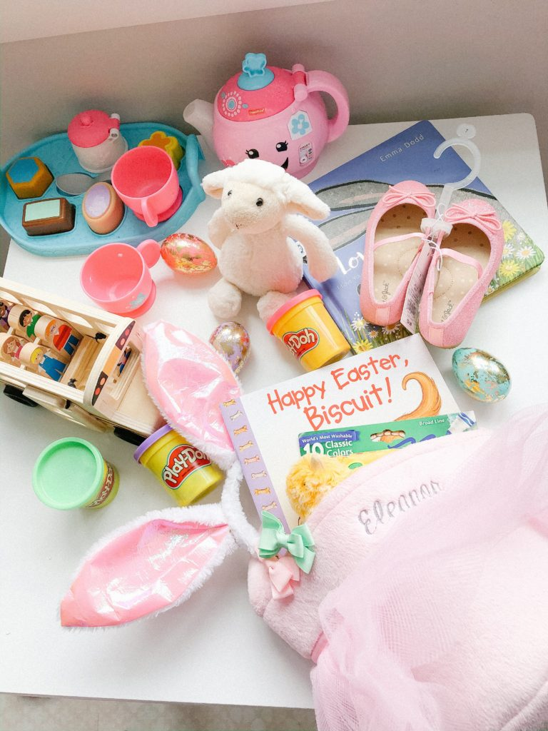 Easter basket ideas for toddlers- no candy