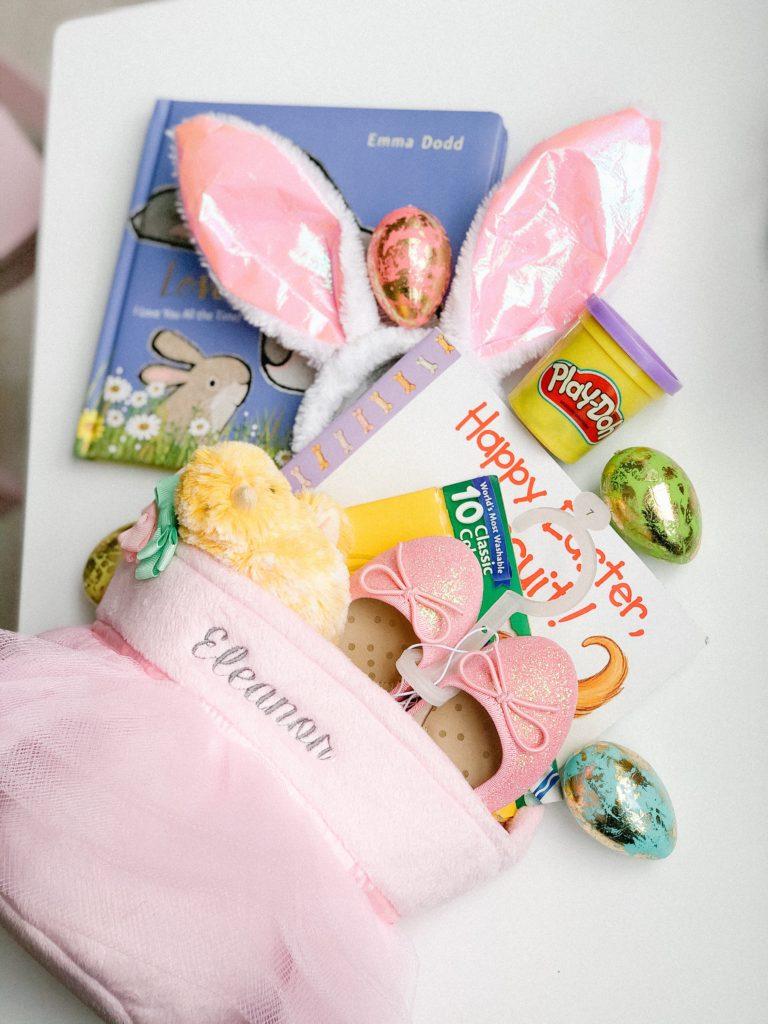 Toddler girl Easter basket ideas no candy