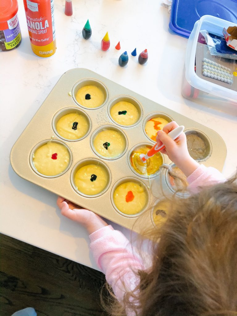 baking with your toddler - and other activities you can do at home!