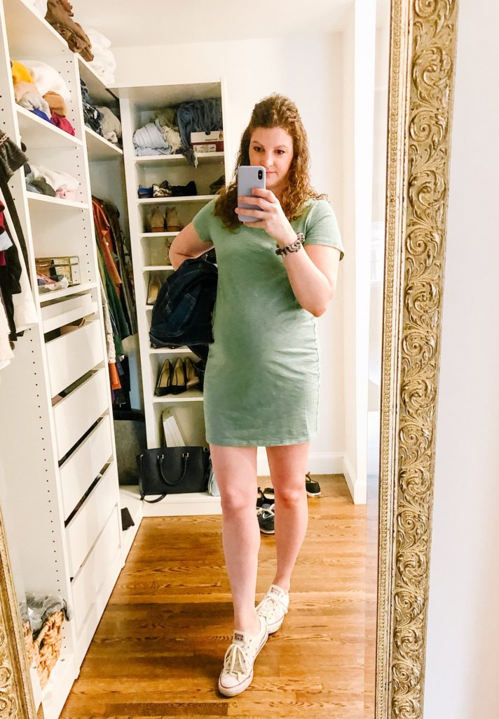 Affordable t-shirt dress
