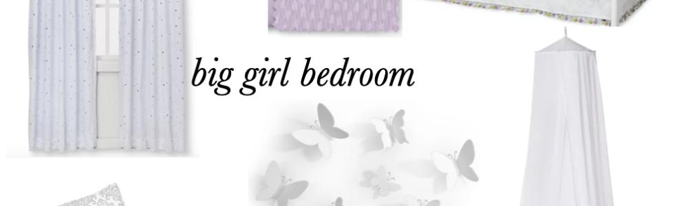 Planning E's Big Girl Bedroom