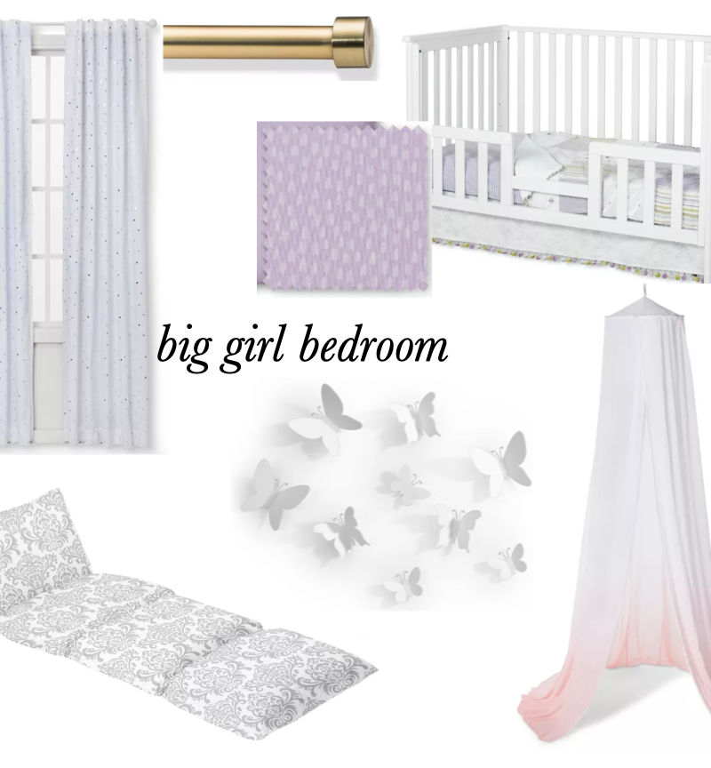 Planning E's Big Girl Bedroom