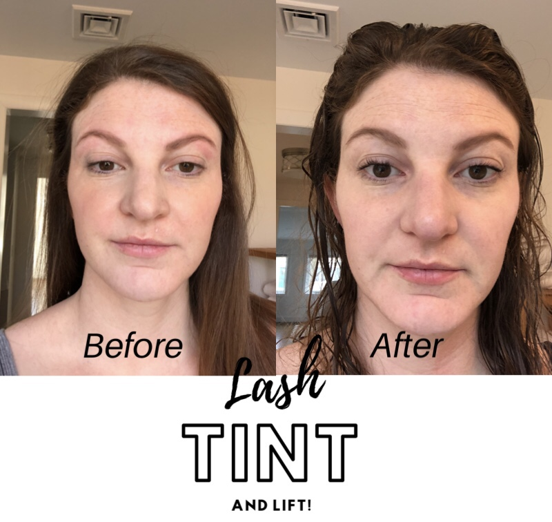 Lash lift and tint review