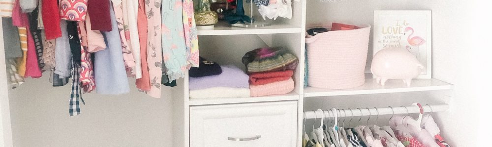 Toddler Closet Organization