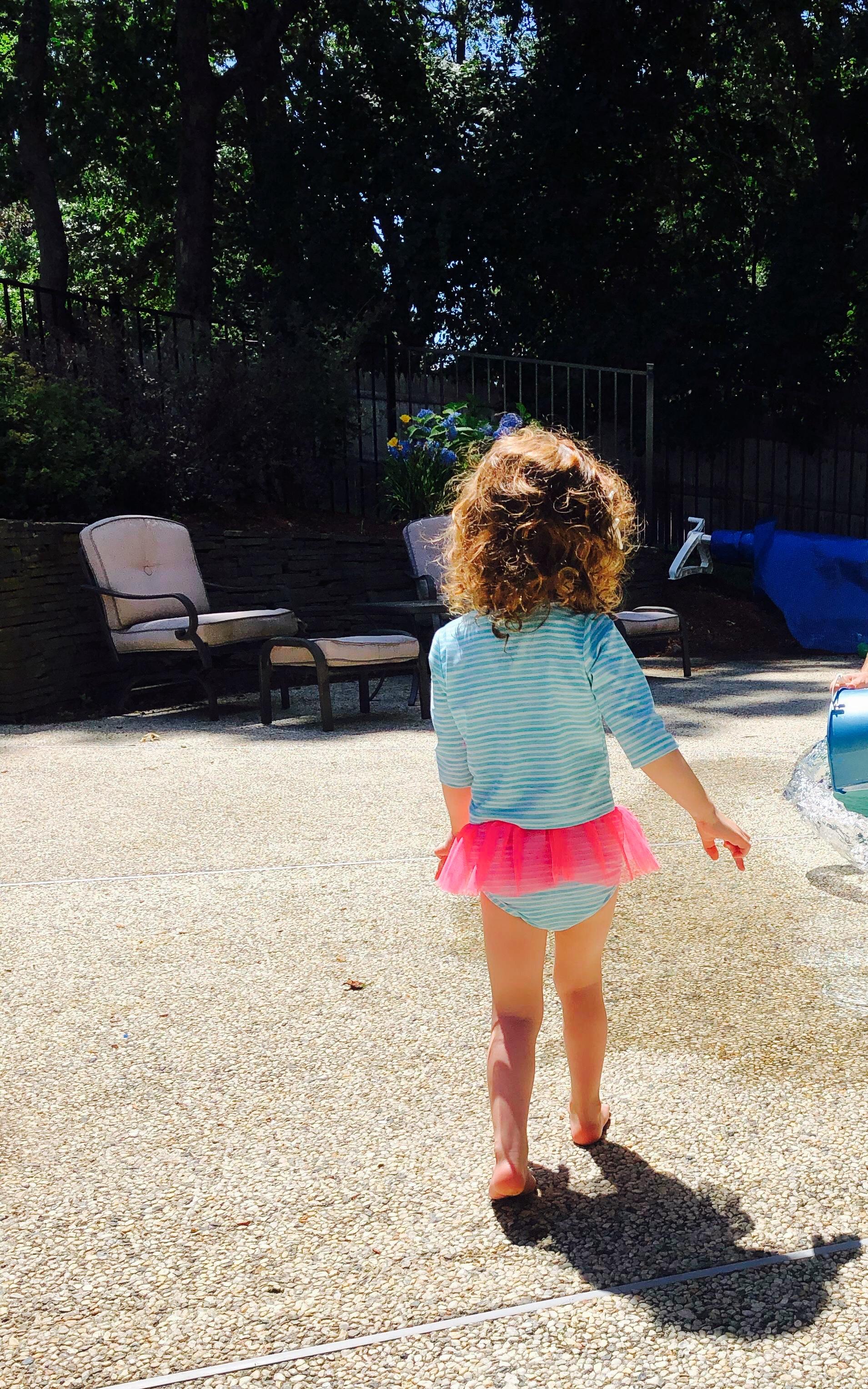 Toddler pool safety