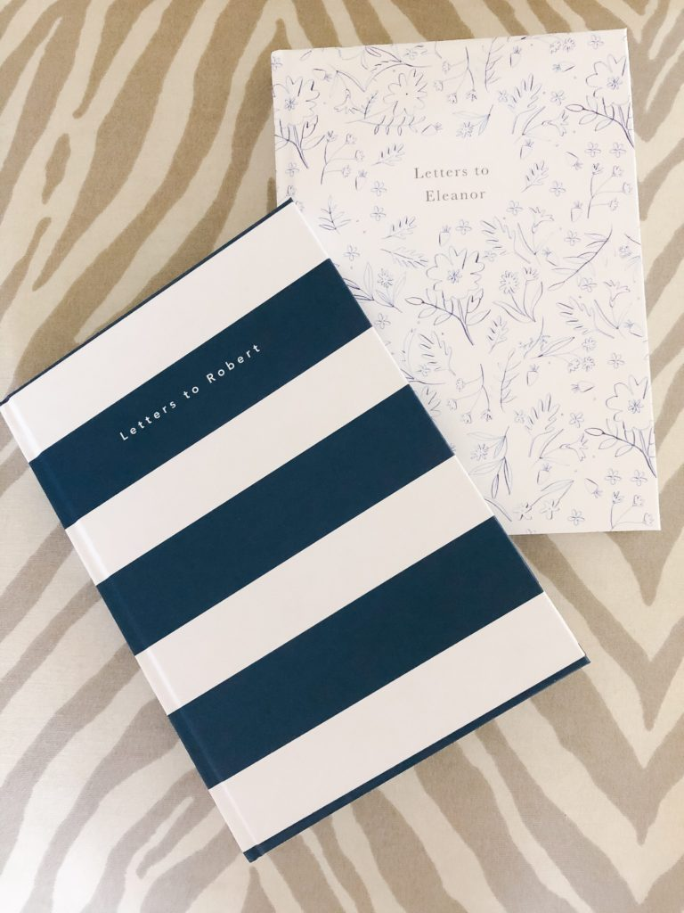 personalized notebooks for baby and toddler memories