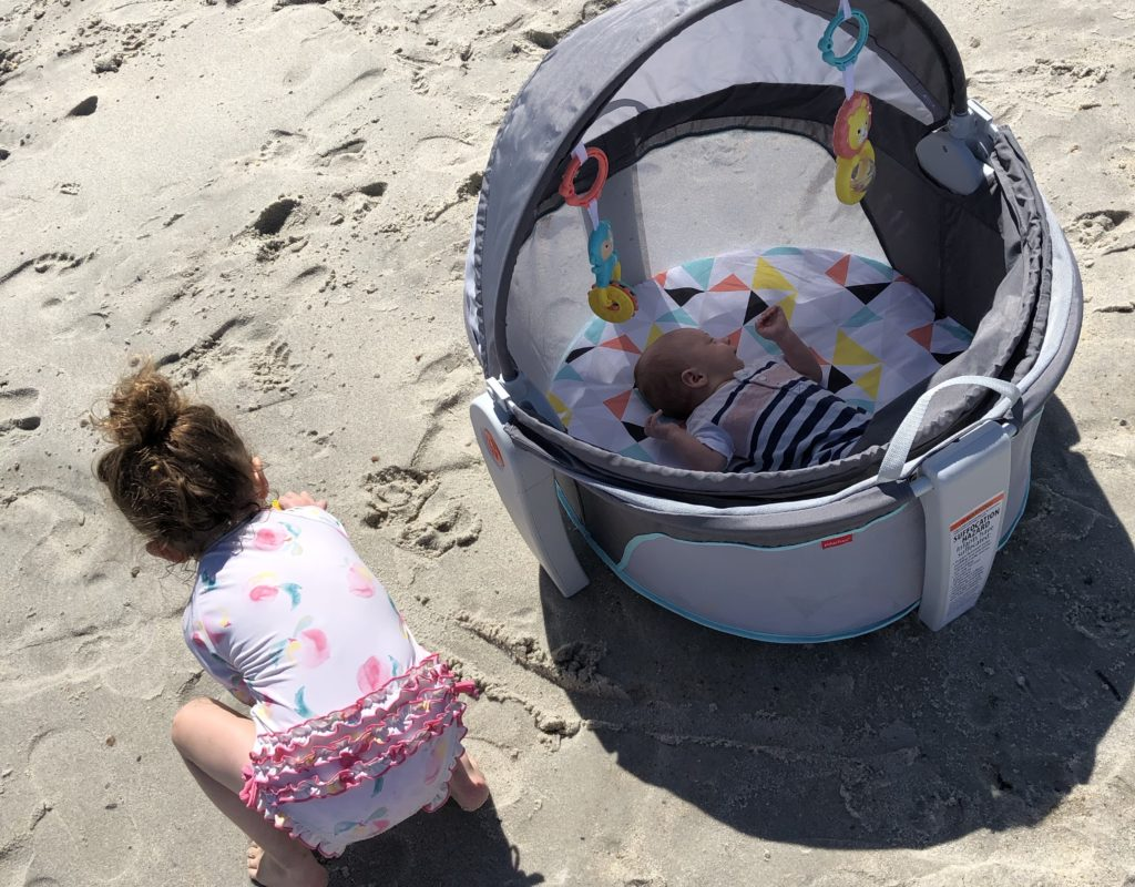 Family beach vacation + what to pack
