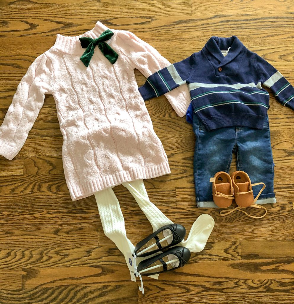 easy family photo outfit ideas with links for kids
