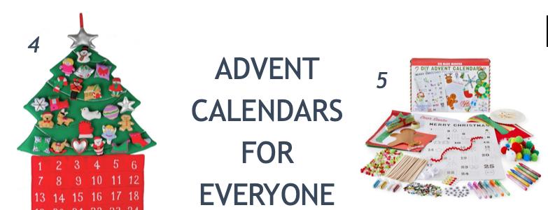 Advent Calendars for Everyone