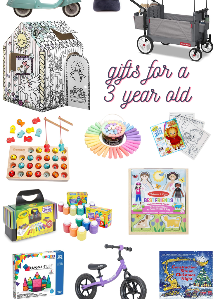 25 Gifts for a 3 Year Old
