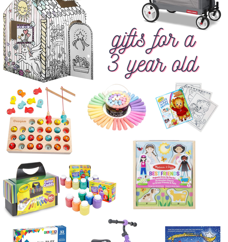 25 Gifts for a 3 Year Old Girl