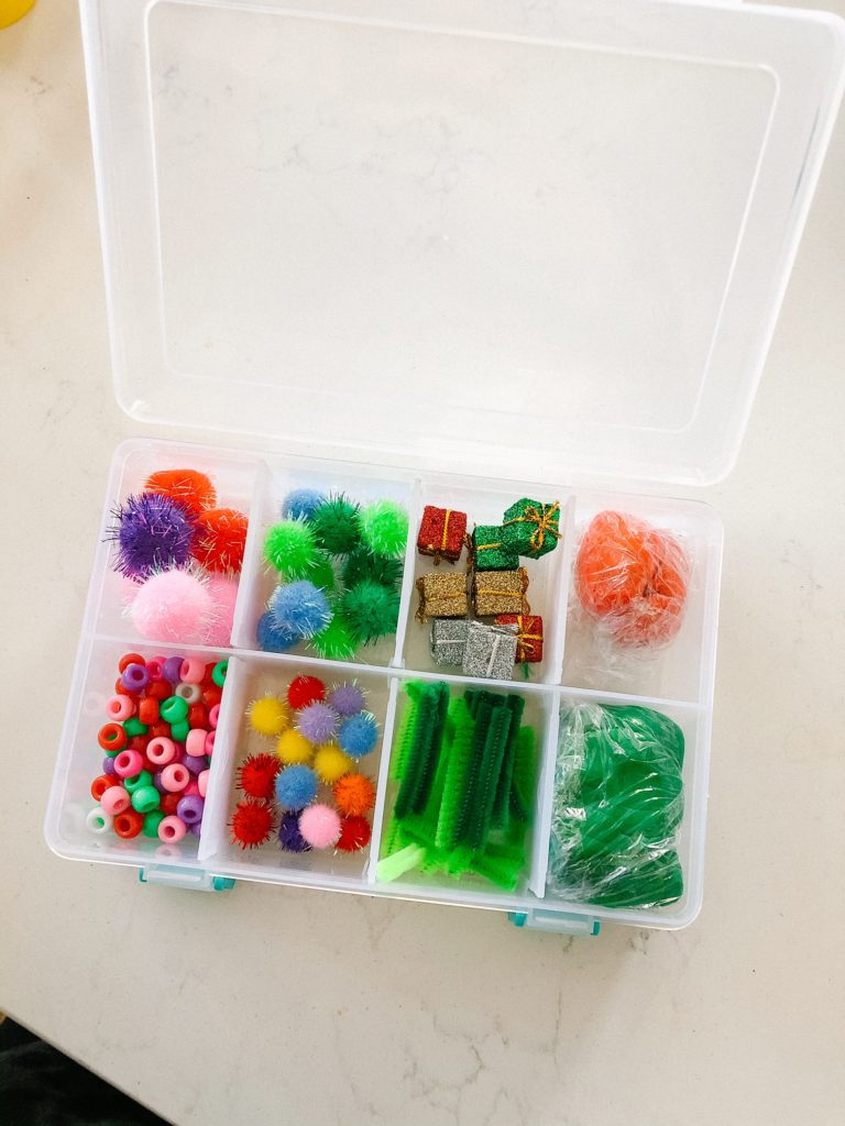 how to make a sensory kit at home! Perfect gift for preschoolers for imaginative independent play