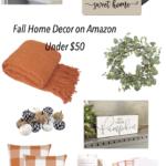 Fall Home Decor Hiding on Amazon (Under $50)
